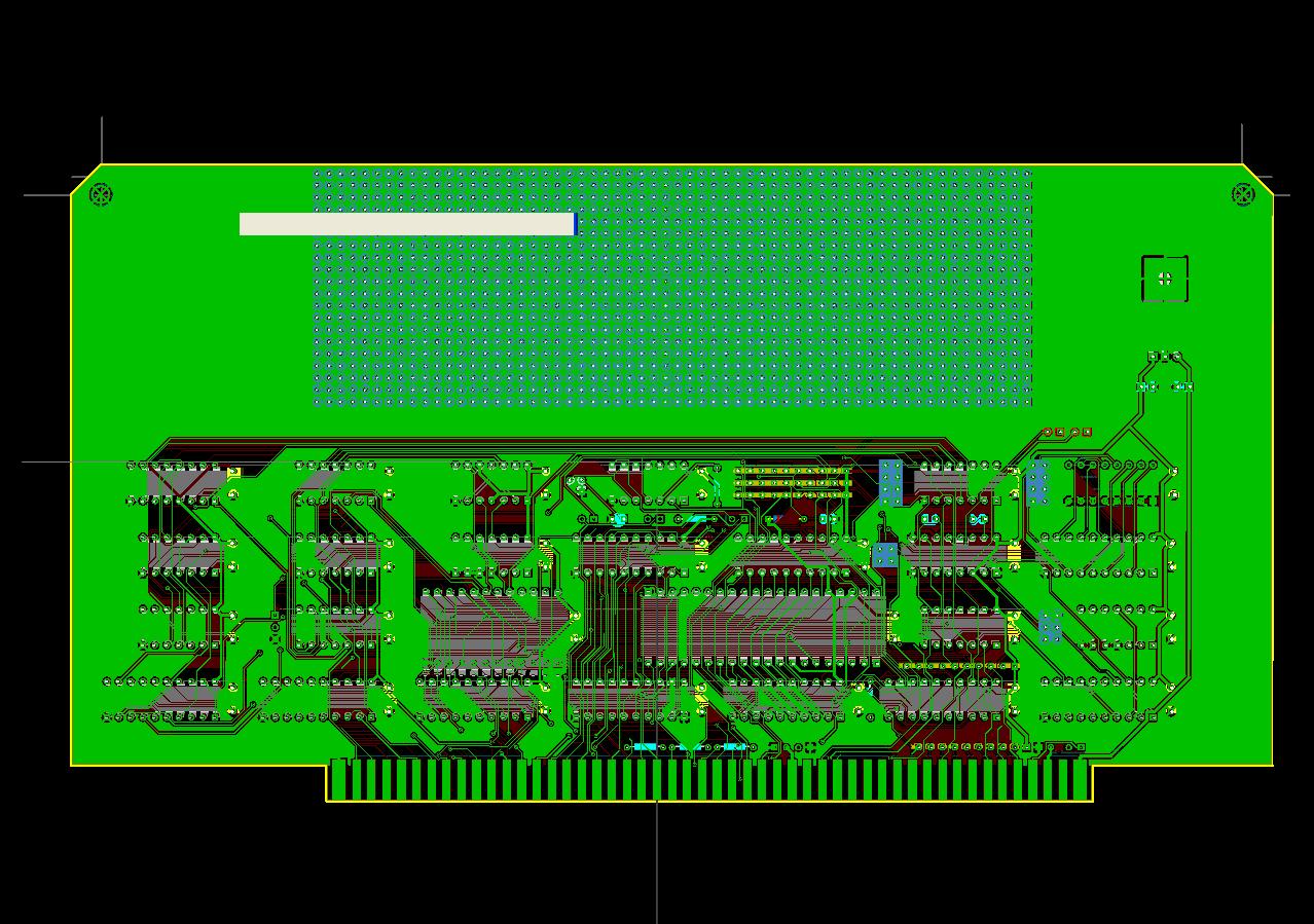 S-100 6502 CPU board V1